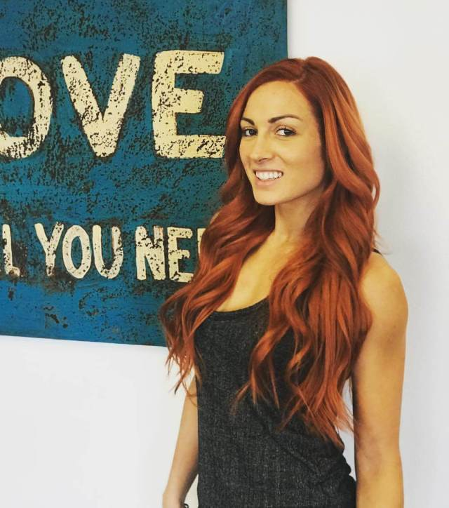 Becky Lynch awesome hair