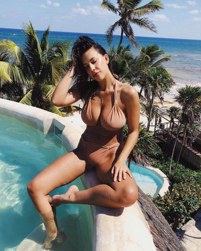 Devin Brugman sexy cleavages