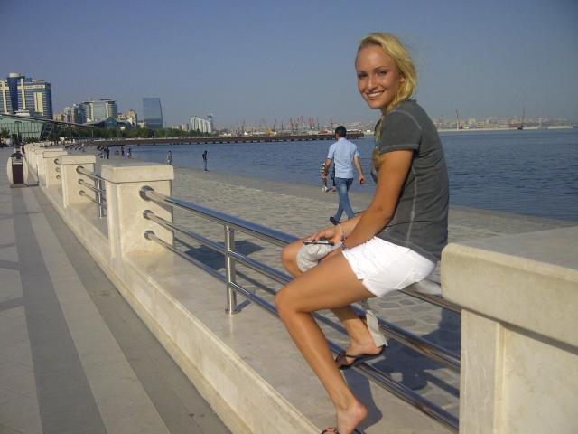 Donna Vekic hot thighs