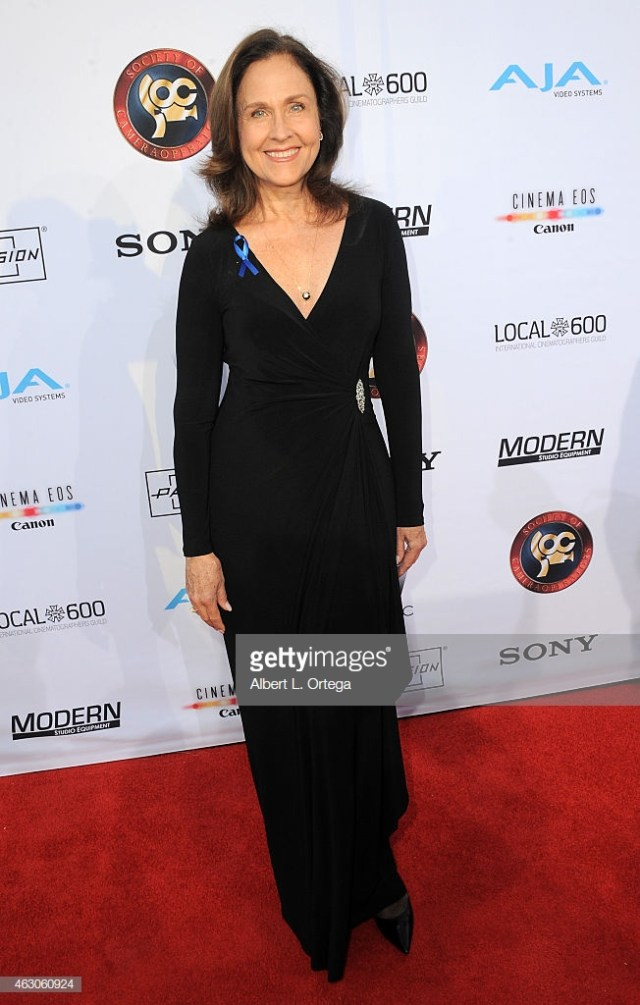 Erin Gray awesome black dress 2