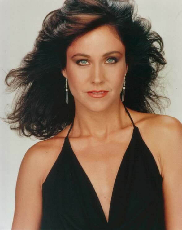 Erin Gray cleavages awesome