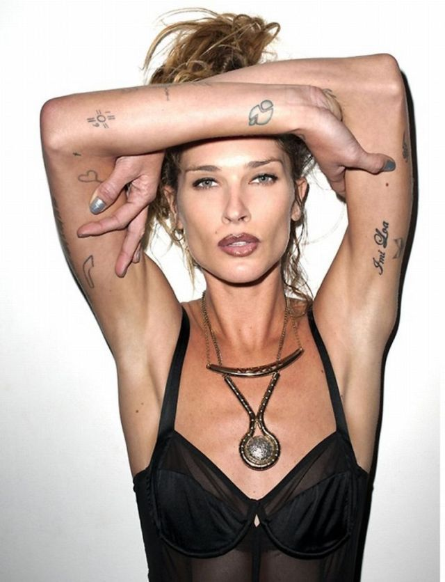 Erin Wasson Sexy Tattoo