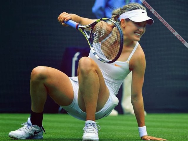 Eugenie Bouchard awesome pic (2)