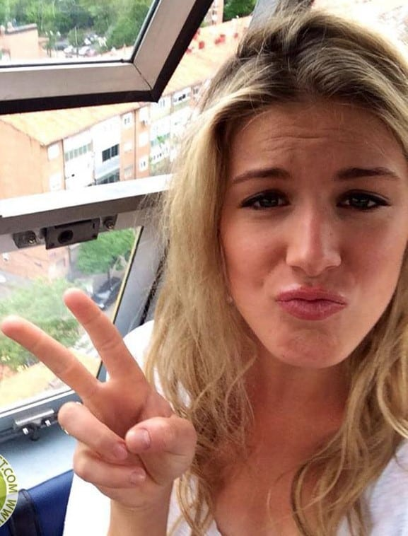 Eugenie Bouchard very hot picture