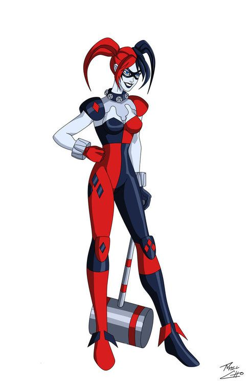 Harley Quinn sexy and hot