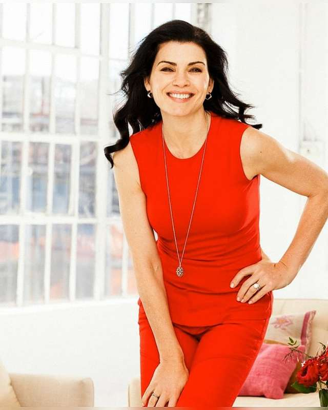 Julianna Margulies Hot in Red