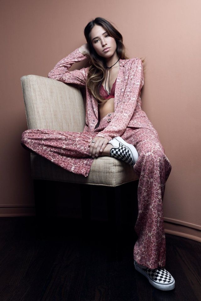 Kelsey Asbille on Photoshoot