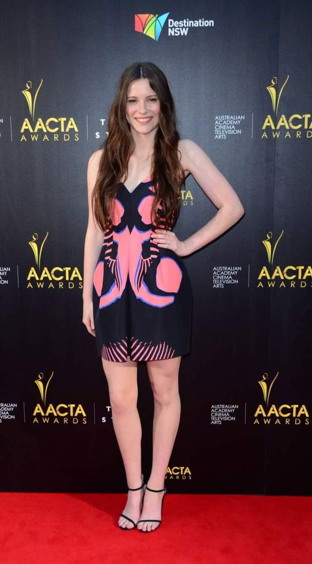 Lily Sullivan awesome dress