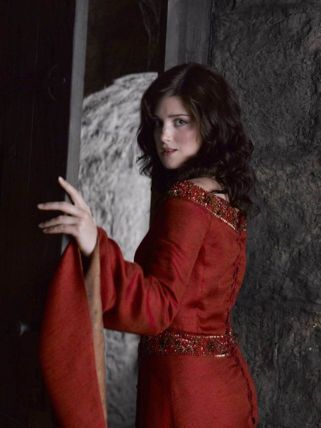 Lucy Griffiths hot red