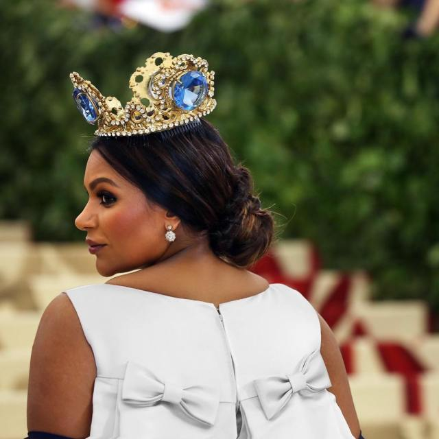 Mindy Kaling Prince Look