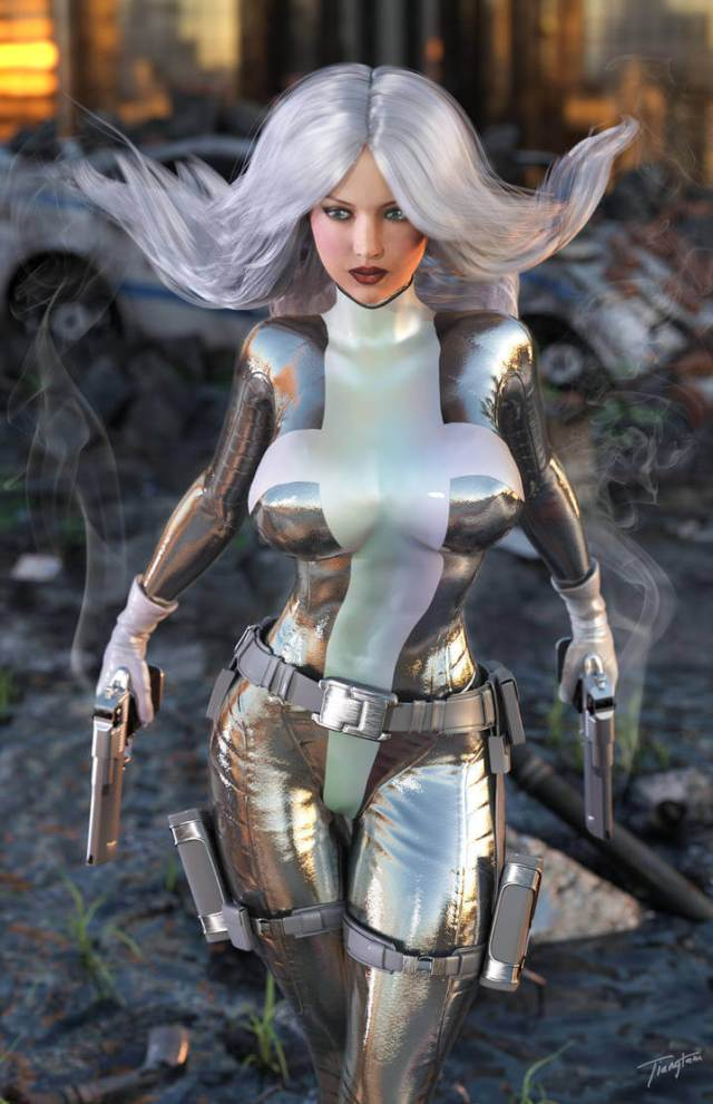 Silver Sable hot pictures