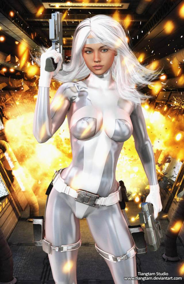 Silver Sable sexy pictures