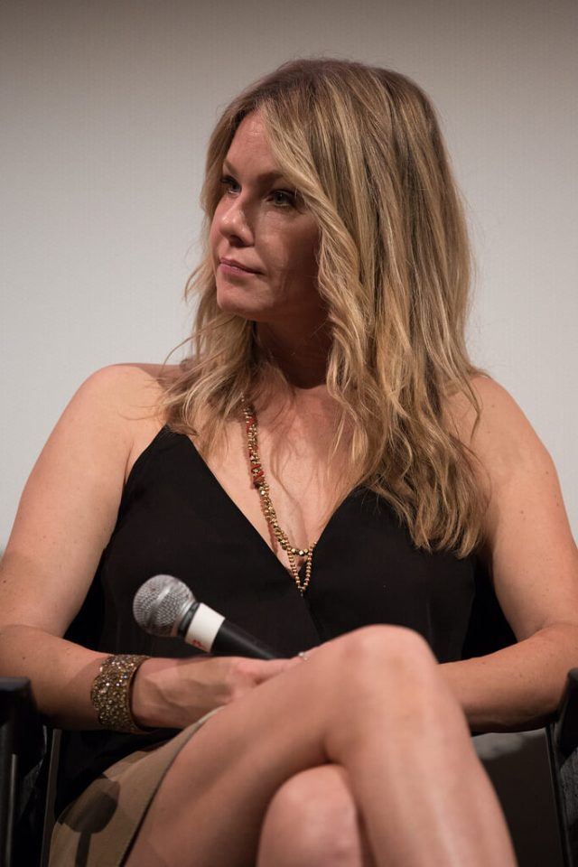 andrea roth on the mic