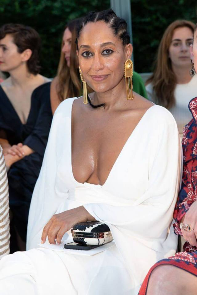 tracee ellis ross sexy cleavage