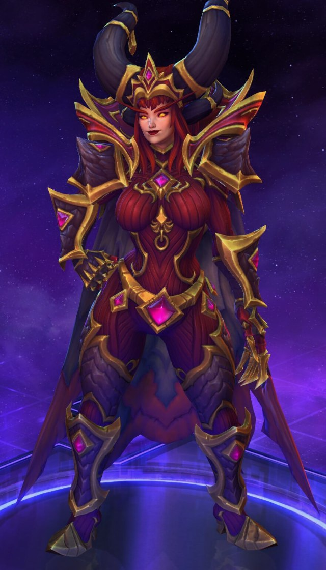 Alexstrasza sexy busty pictures