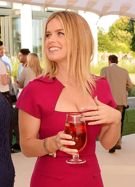 Alice Eve Hot on Party