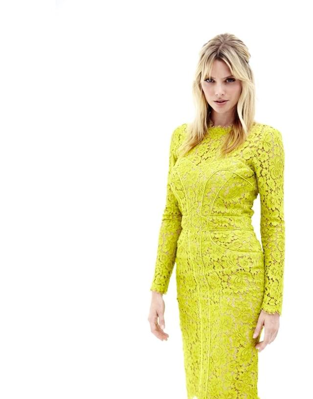 April Bowlby Hot in Yellow