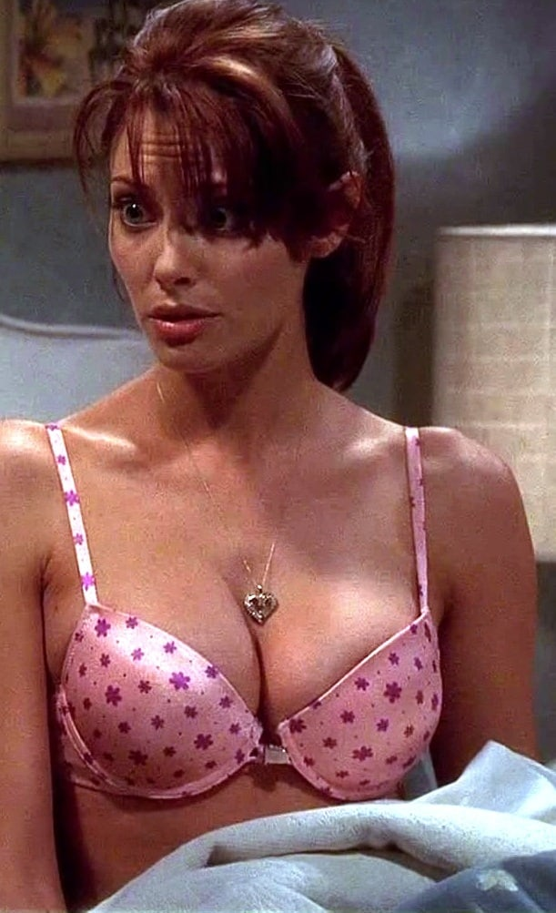 April Bowlby Sexy Boobs Pictures on Pink Bikini