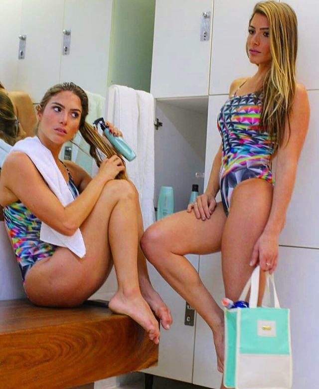 Bia & Branca Feres thighs awesome pics