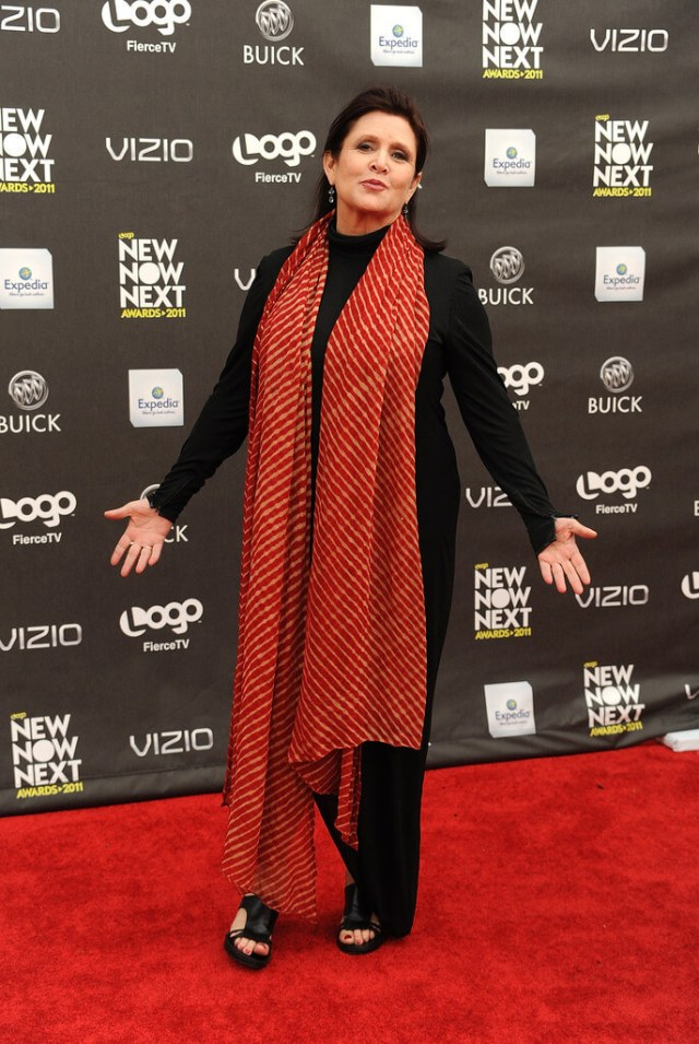 Carrie Fisher HOT PIC
