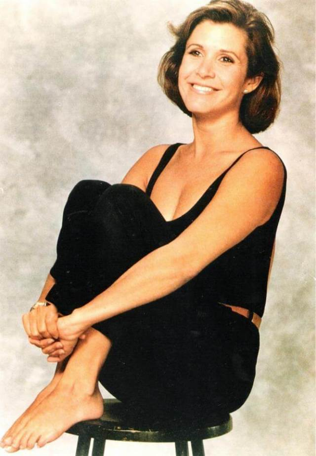 Carrie Fisher HOT SMILE (2)