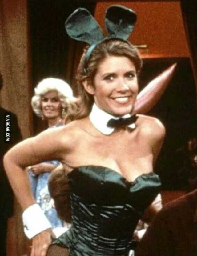 Carrie Fisher SMILE PIC