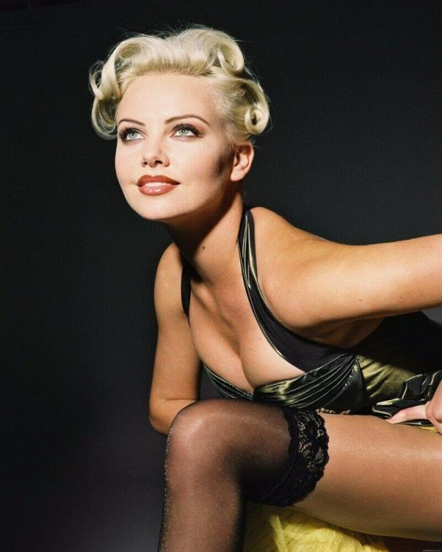 Charlize Theron hot smile
