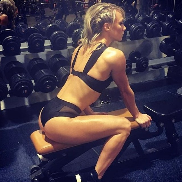 Chloe Madeley on Workout