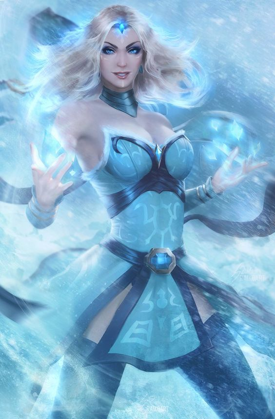 Crystal Maiden Beautifull Pics