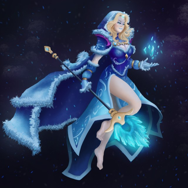 Crystal Maiden Fan Arts
