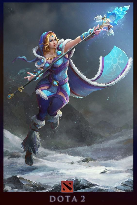 Crystal Maiden Fan Arts Pics