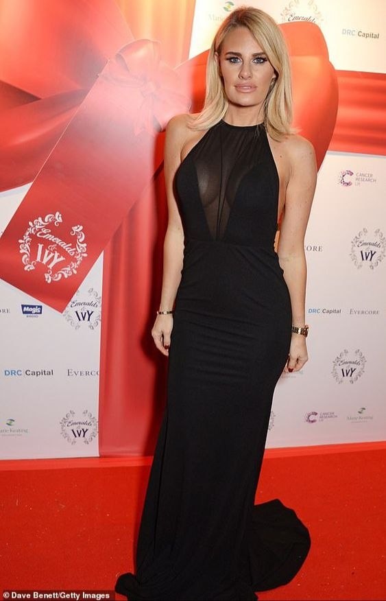 Danielle Armstrong Red carpet