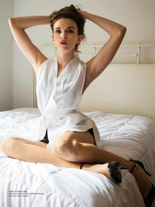 Danielle-Panabaker-Sexy-on-Bed