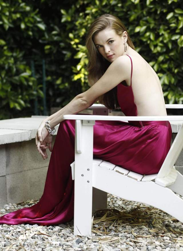 Danielle Panabaker backless pic
