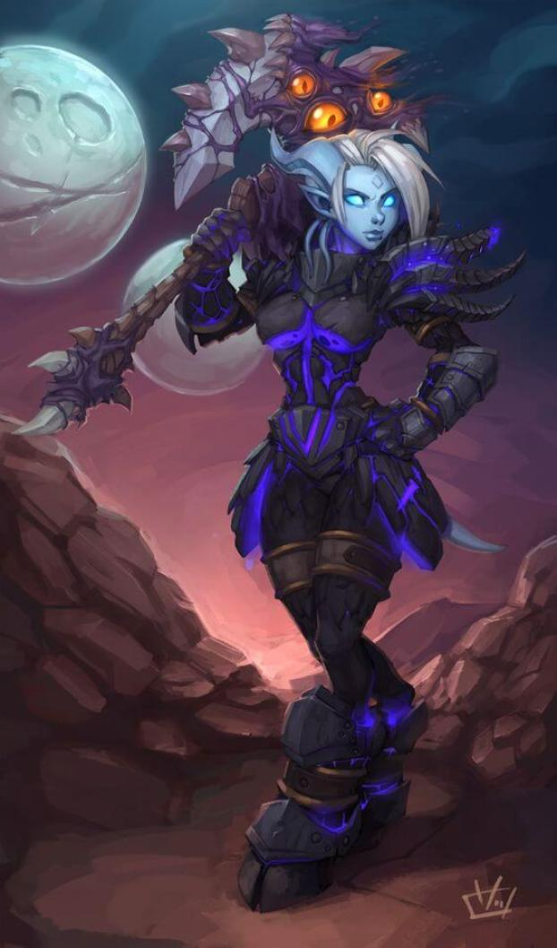 Draenei sexy pictures