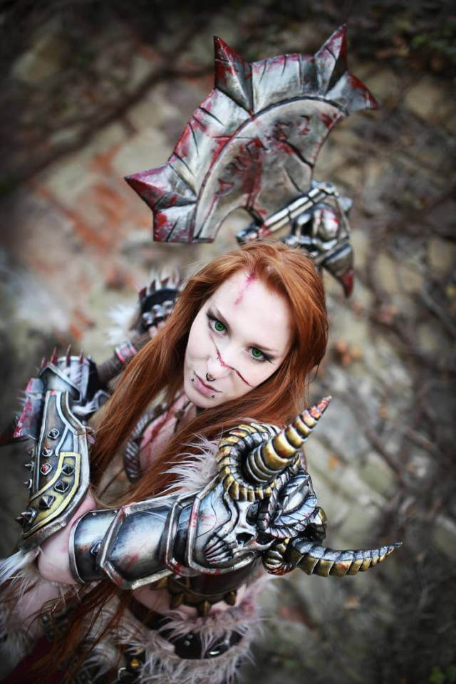 Female barbarian cleavages pics