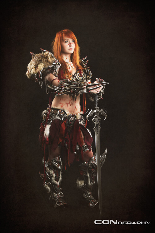 Female barbarian hot pictures