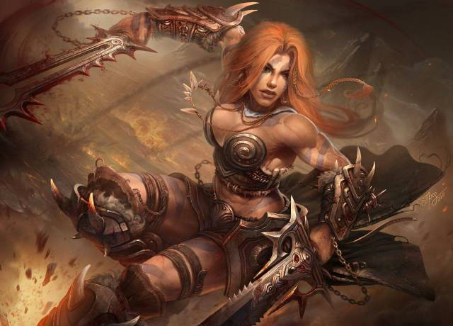 Female barbarian sexy pictures