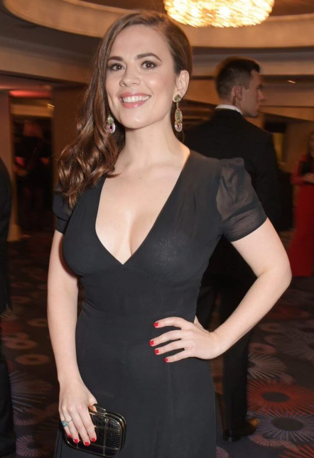 Hayley Atwell hot busty picture