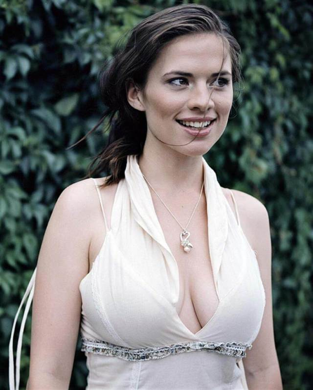 Hayley Atwell sexy busty photo