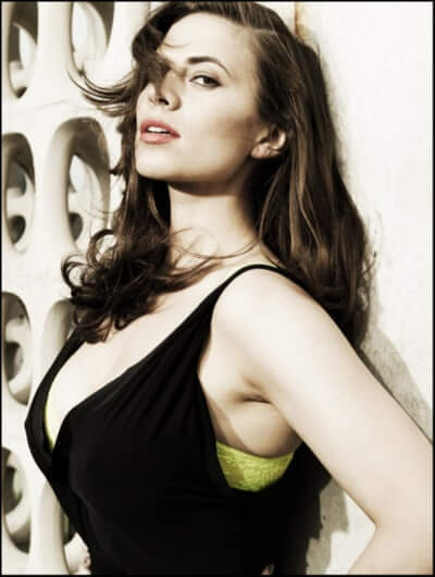 Hayley Atwell sexy busty picture
