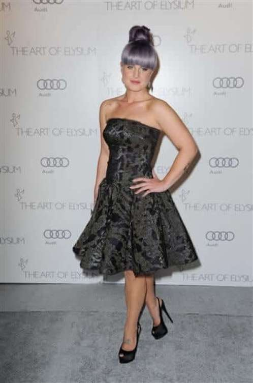 Kelly Osbourne hot cleavages