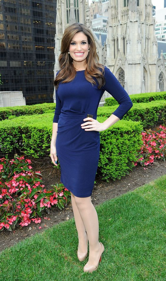 Kimberly Guilfoyle on Garden