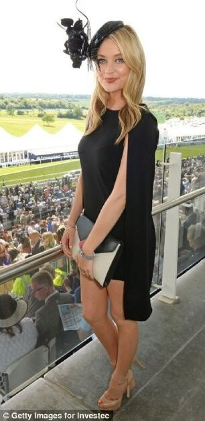 Laura Whitmore sexy side look
