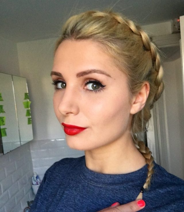 Lauren Southern Red Lips