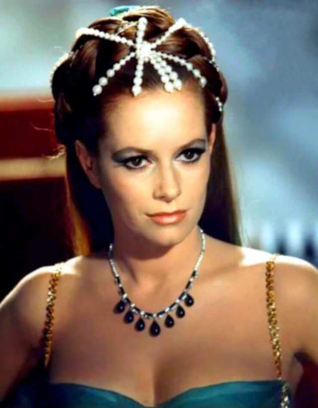 Luciana Paluzzi cleavages pics