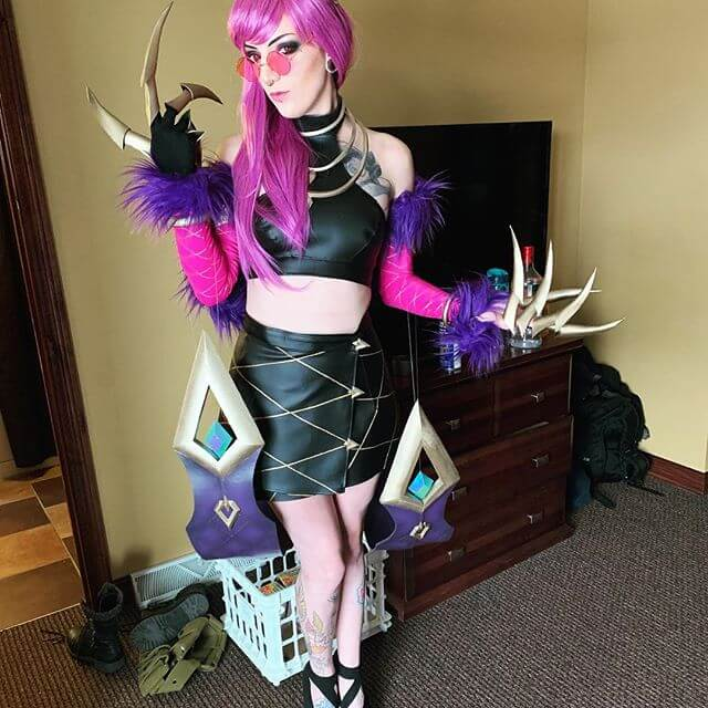 Masquerade Evelynn awesome picture (2)