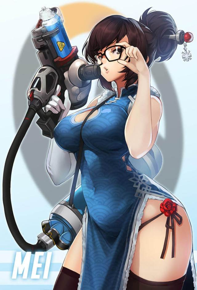 Mei Overwatch booty sexy