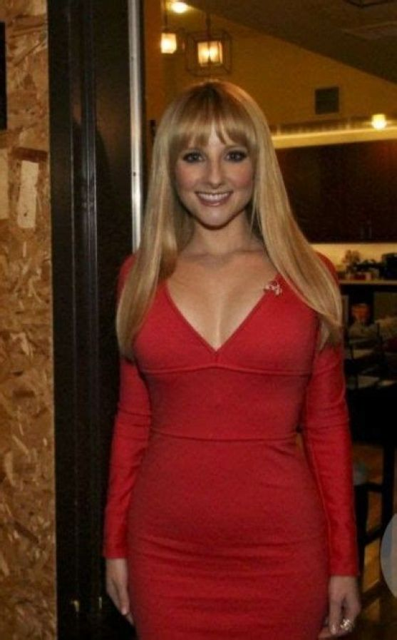 Melissa Rauch hot sexy dress