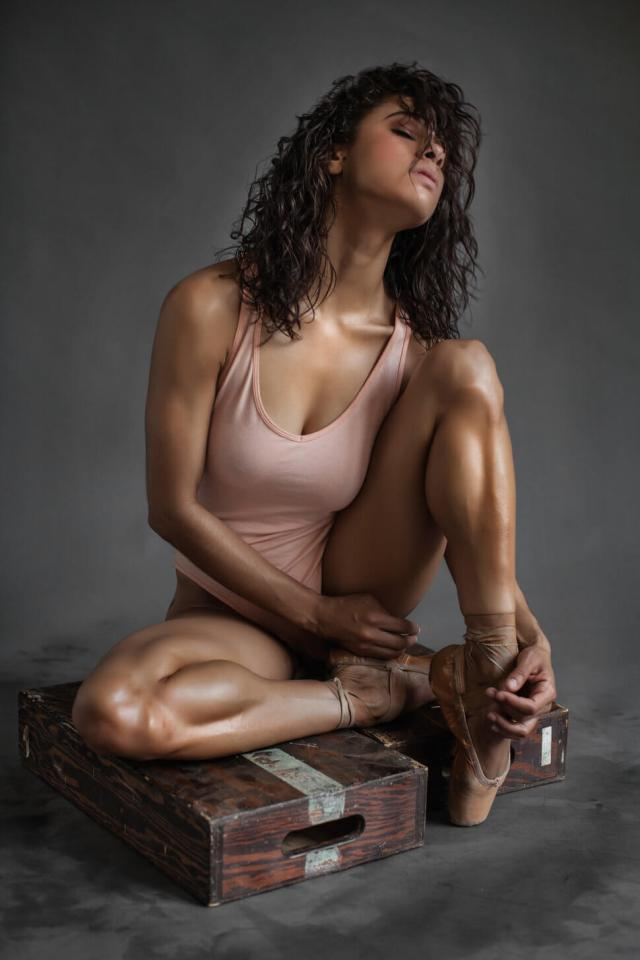 Misty Copeland cleavage